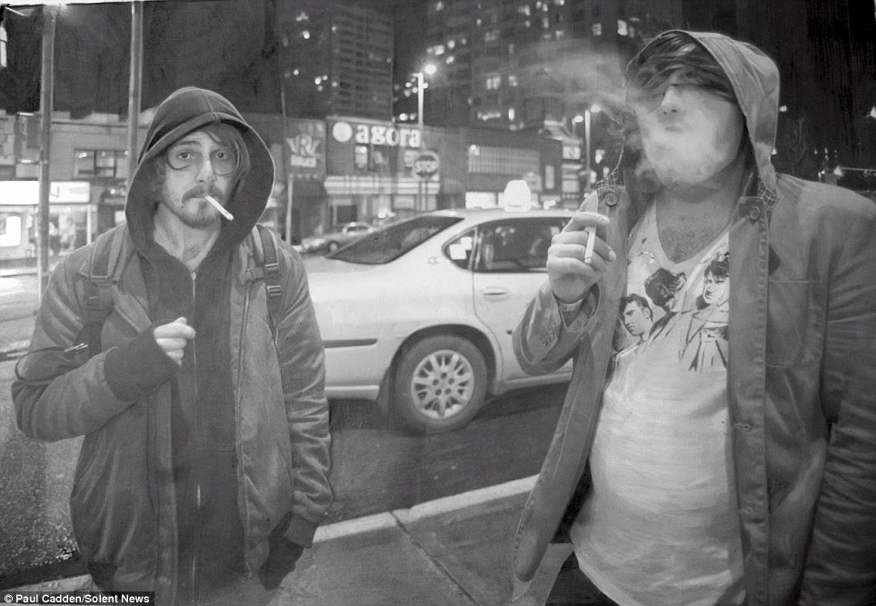 Smokescreen: Incredible detail has been captured by the hyperrealist artist Paul Cadden, but his work leaves you wondering whether your eyes have been tricked