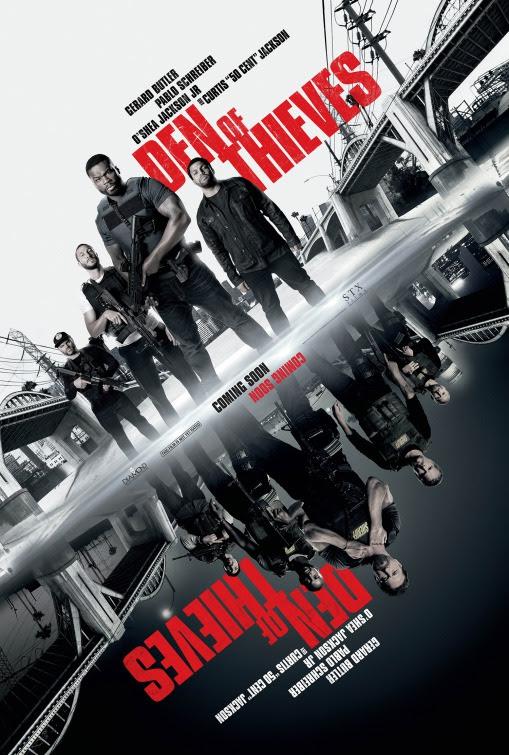 Resultado de imagem para movie poster Den Of Thieves