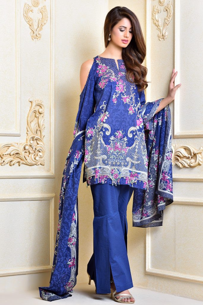 kayseria beautiful fancy eid dresses collection 20182019
