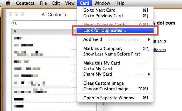 Find and fix duplicates in the Contacts app