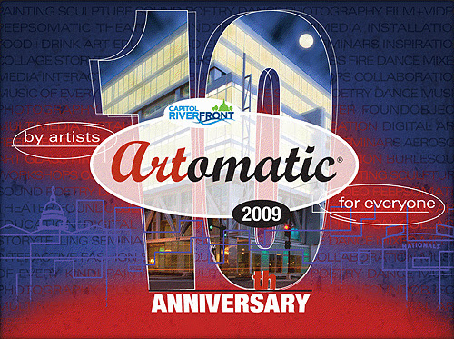 Artomatic 10th Anniversary Square-ish Banner