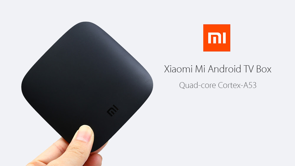 【Official International Version】Original Xiaomi Mi Android TV Box Quad-core Cortex-A53 4K H.265 VP9 Profile-2 Decoding Dual-band WiFi Dolby DTS
