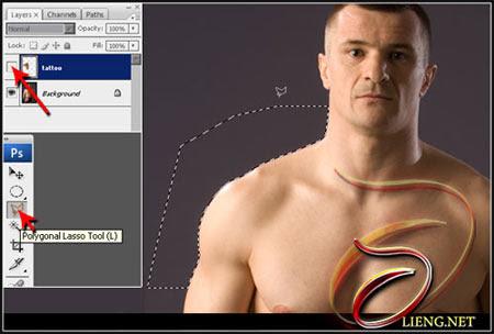 Realistic Tattoo on Human Skin! image 4