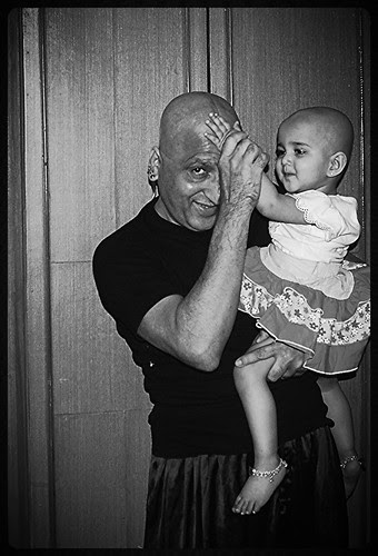 Marziya 15 Month Old Goes Bald With Me by firoze shakir photographerno1