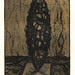 Between earth and sky08,(11-50),複合媒材,16×22cm,1999
