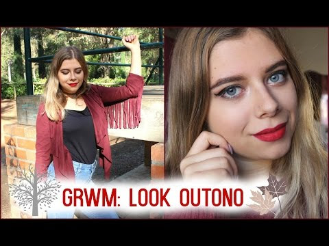 Video - GRWM: Look de Outono (Makeup & Outfit)