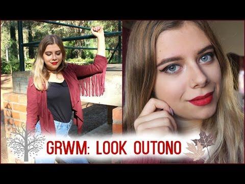 Video - GRWM: Look de Outono (Makeup & Outfit)