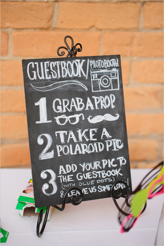 Photo Booth Scrapbook Instructions
