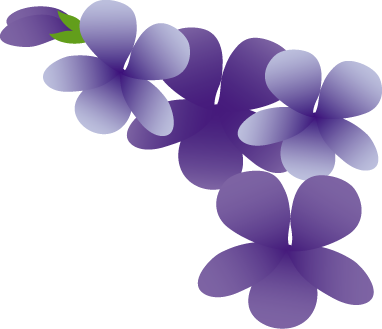 春すみれイラスト スミレの花無料イラストフリー素材