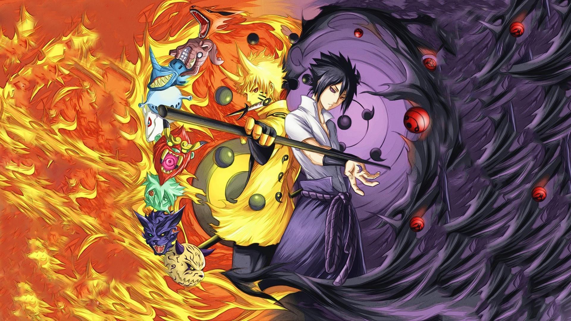Download 440+ Wallpaper Naruto Dan Sasuke Rikudou Gratis Terbaik