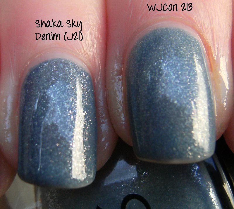 Shaka Sky Denim vs WJCON 213