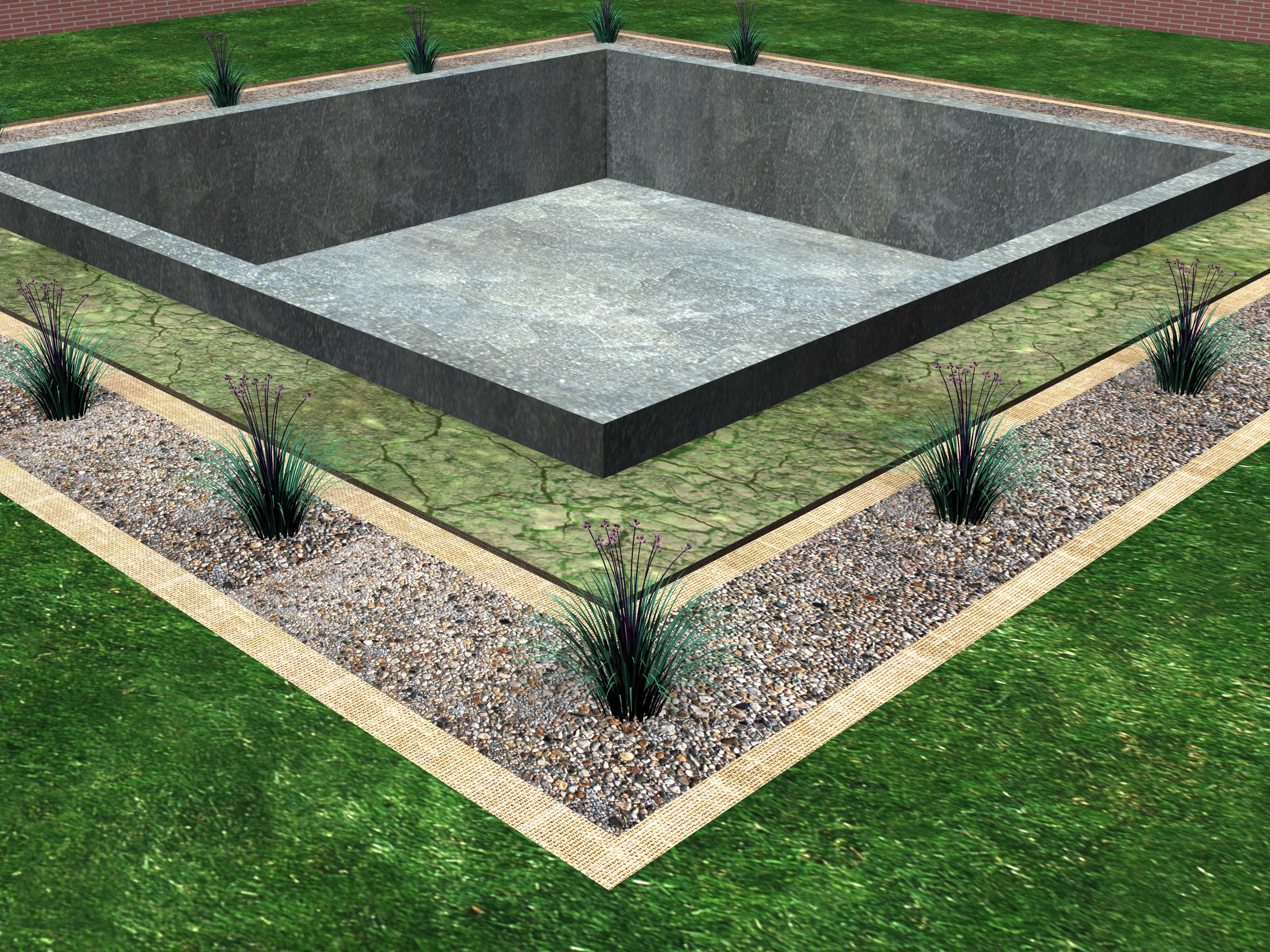 Install a Drainage System Around the Foundation of a House Step 5