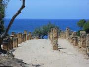 Ruines et mer