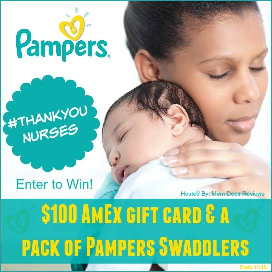 100 amex pampers