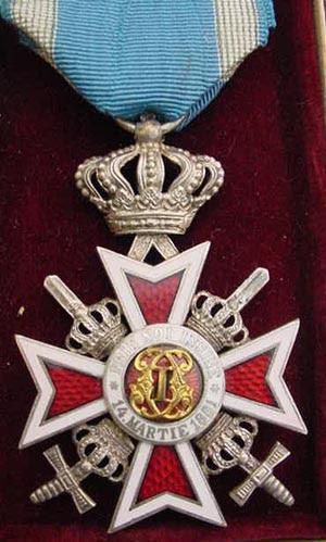 File:Orde van de Kroon van Roemenie met Zwaarden na 1932.jpg