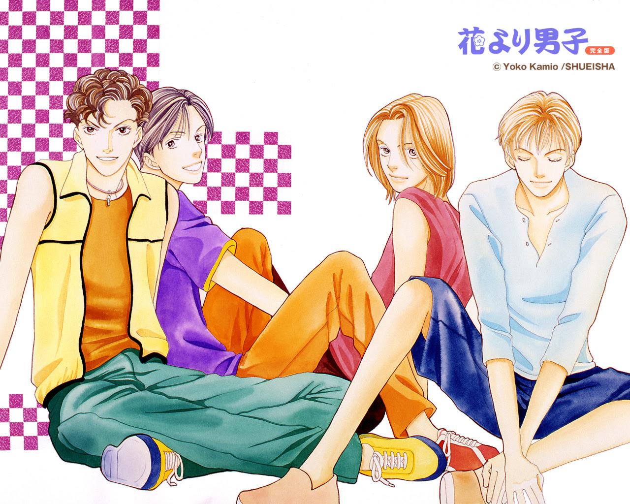 F4 Hana Yori Dango 花より男子 Wallpaper 35231114 Fanpop