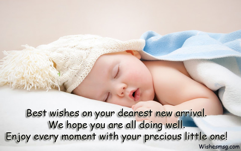 New Born Baby Wishes Congratulations Messages Wishesmsg