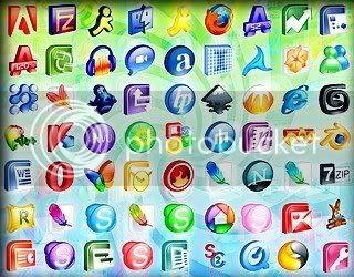 150 iconos 3D