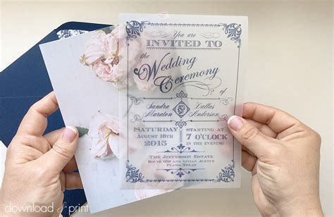 10 free wedding invitation templates