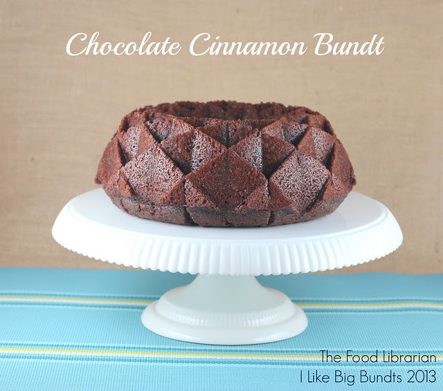 Chocolate Cinnamon Bundt - I Like Big Bundts 2013 - Day 15