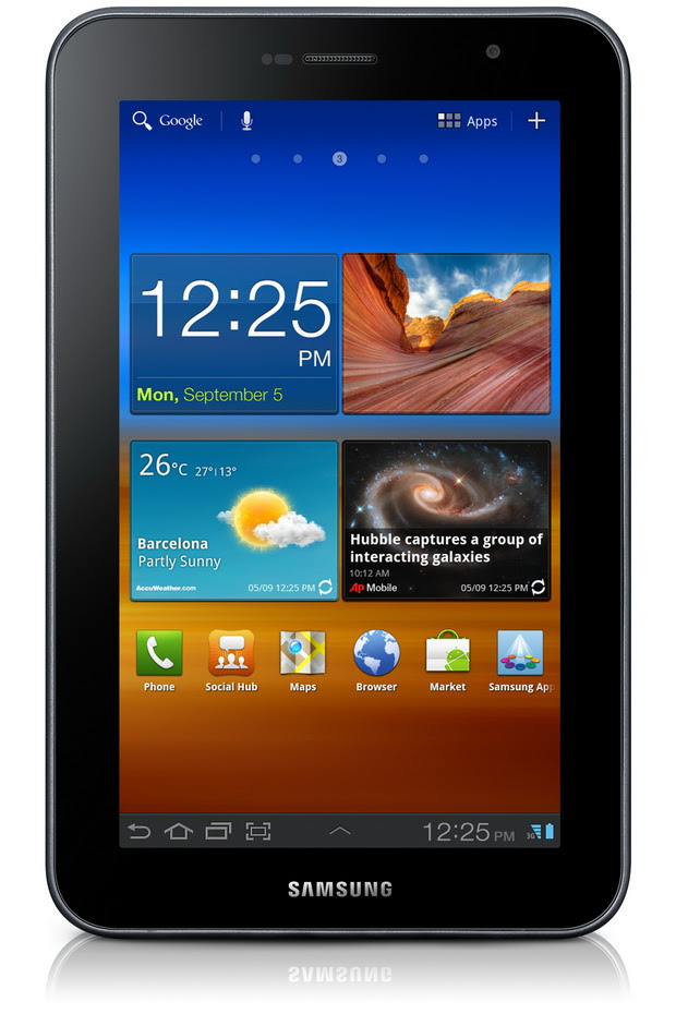 Frente - Galaxy Tab 7.0 Plus