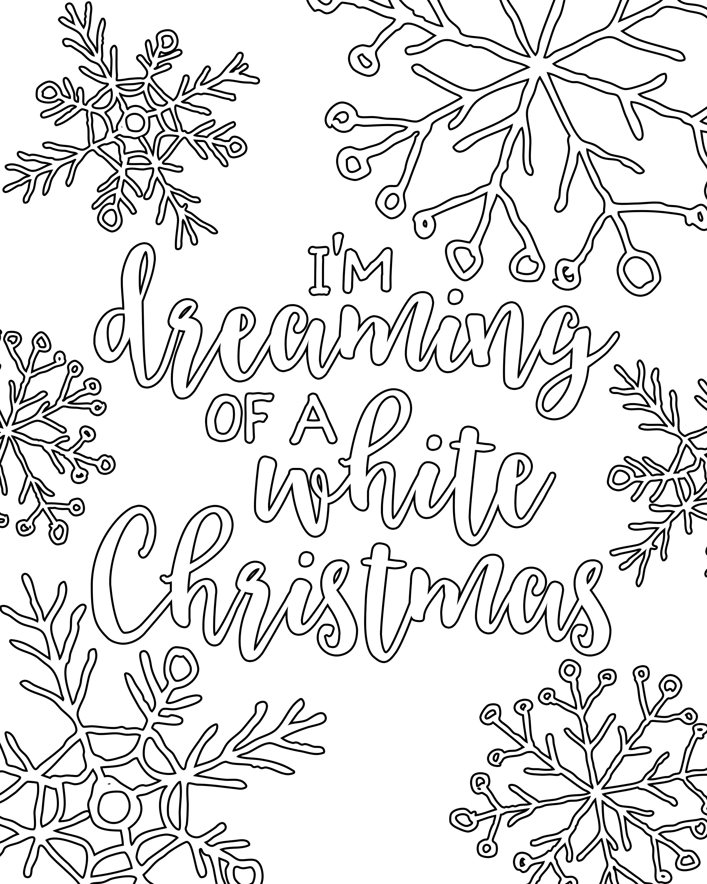 610 Top Christmas Coloring Pages Hd For Free