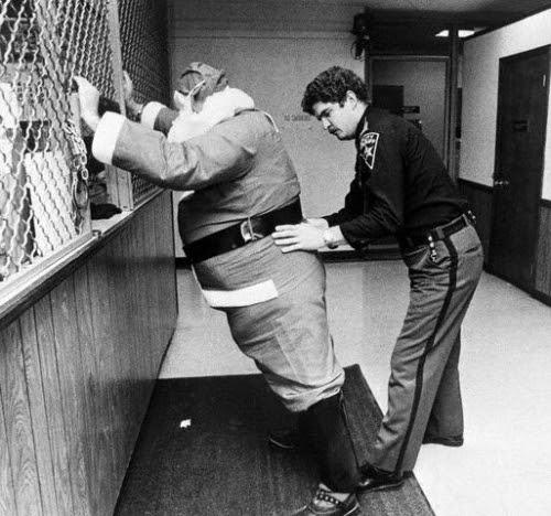 Processing Santa