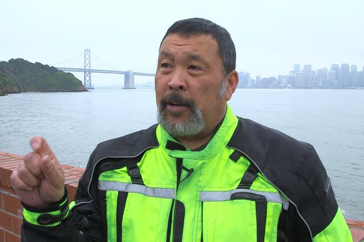 Eric Kondo talks about lane-splitting in the Bay Area.
