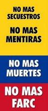 NUESTRA LUCHA NO ES CON COLOMBIA.