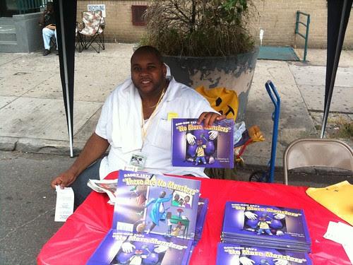 Author Ronald Richardson @ Harlem Book Fair