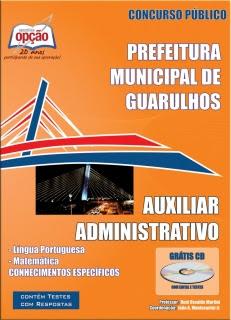 Prefeitura de Guarulhos / SP-AUXILIAR ADMINISTRATIVO
