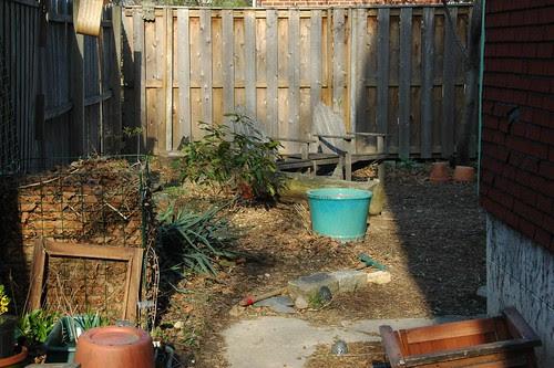 View to gardener's corner