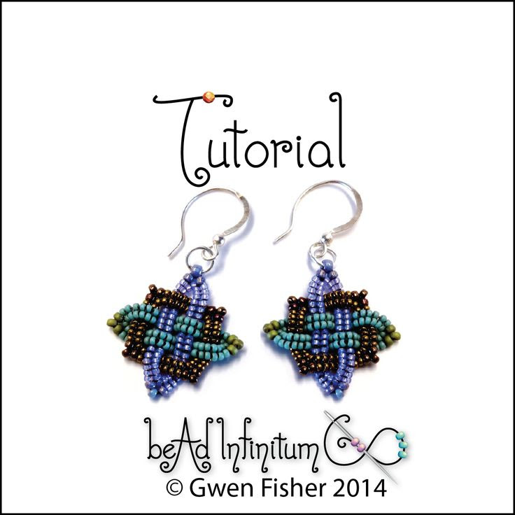 gwenbeads: Tutorial Celtic Knot Earrings and Knotted Cross