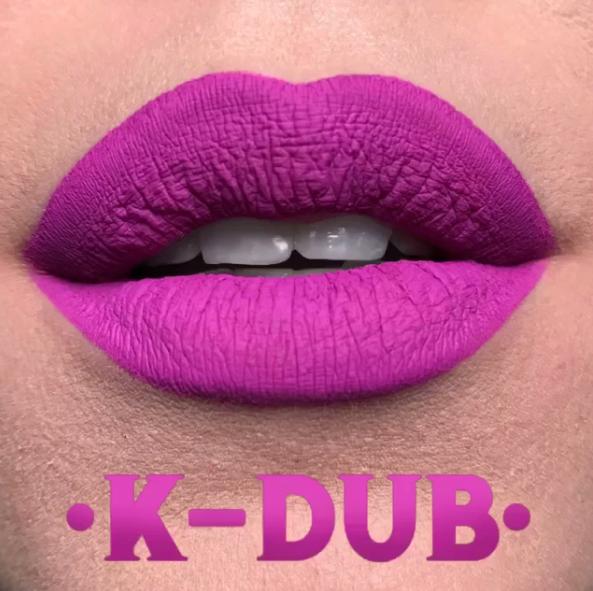 Kat Von D Everlasting Liquid Lipstick in K-Dub Swatche