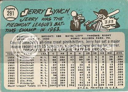 #291 Jerry Lynch (back)