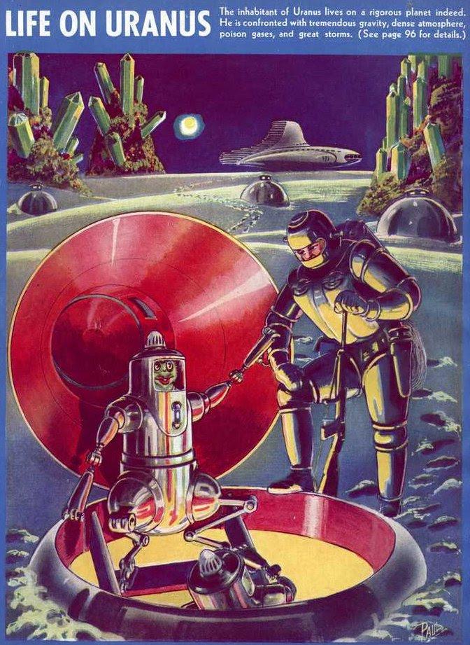Paul - Life on Uranus (Fantastic Adventures v02 n04)