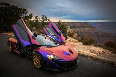 C.J. Wilson's Purple McLaren P1 autofluence