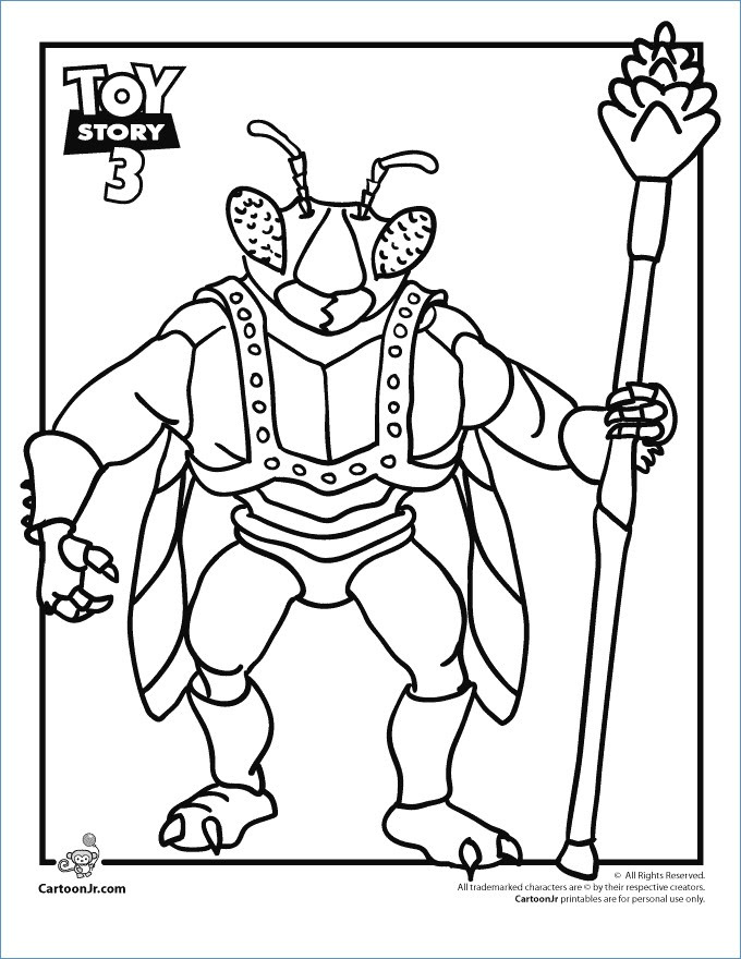 Toy Story Characters Coloring Pages at GetColorings.com ...