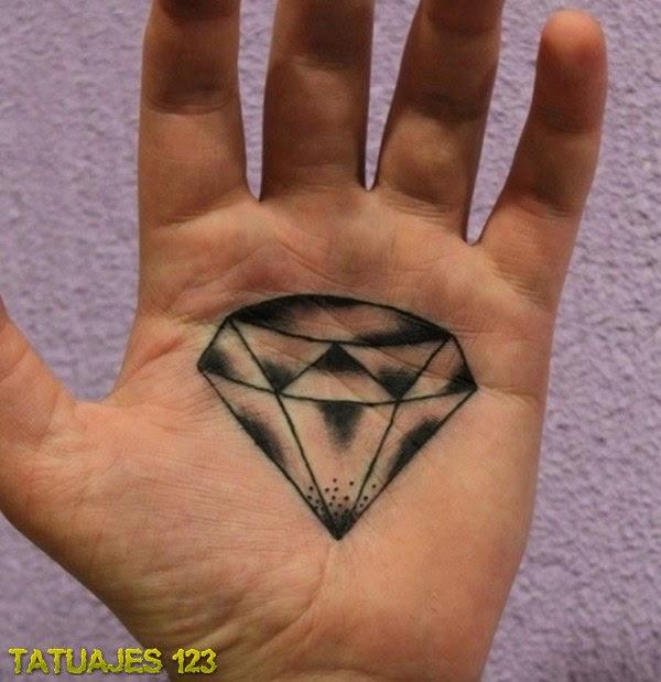 Tatuajes De Diamantes Que Sacarán Tu Lado Más Exclusivo