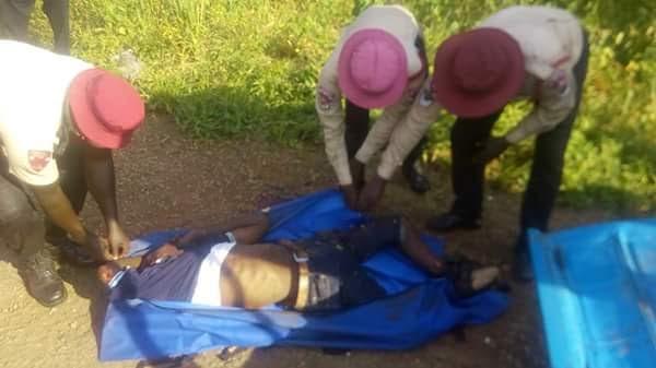 HIT AND RUN HONDA DRIVER KILLS A MAN IN OTUKPO, BENUE ( SEE PHOTOS)