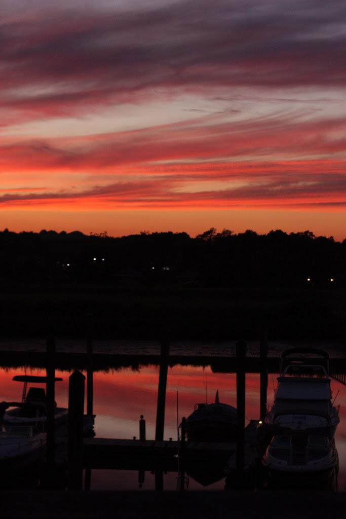 Sunset on the 4th - orange