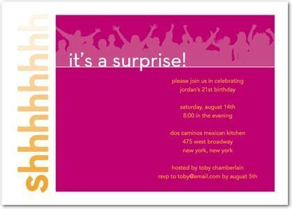 Baby Shower: Surprise Baby Shower Invitations Wording To