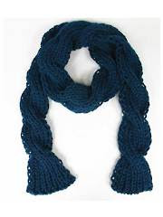 Twist Scarf Knit Pattern - Electronic Download