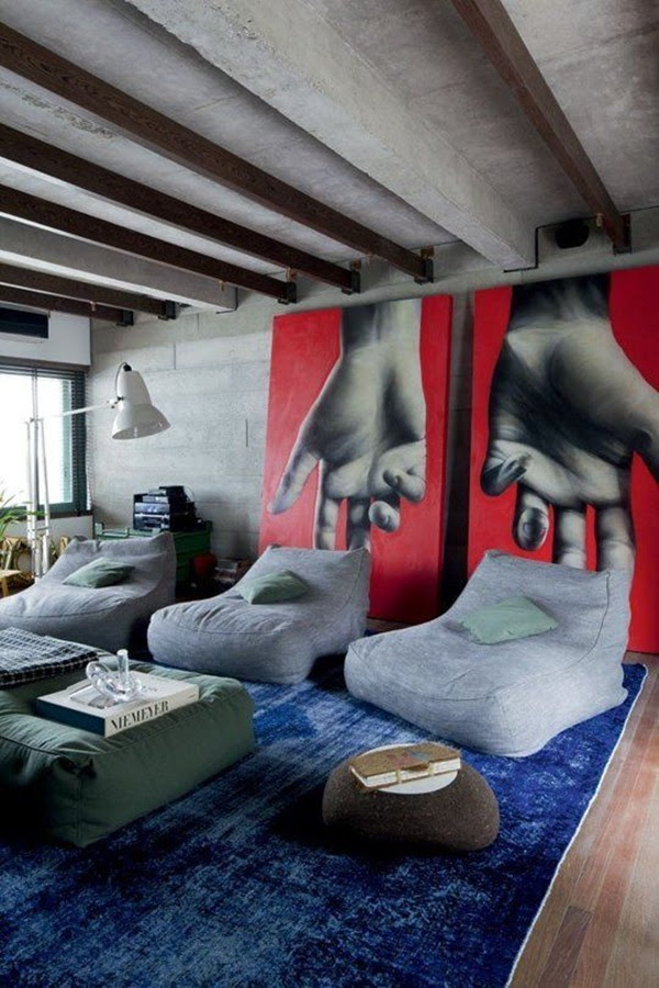 Creative Wood Floor Paint Decoration Art Works (31)