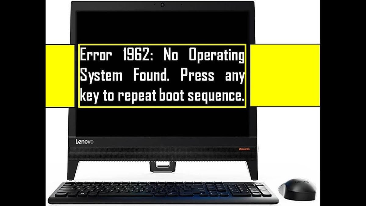 "Proper Instructions To Effectively Fix Lenovo PC Error 1962 – ""No ..."
