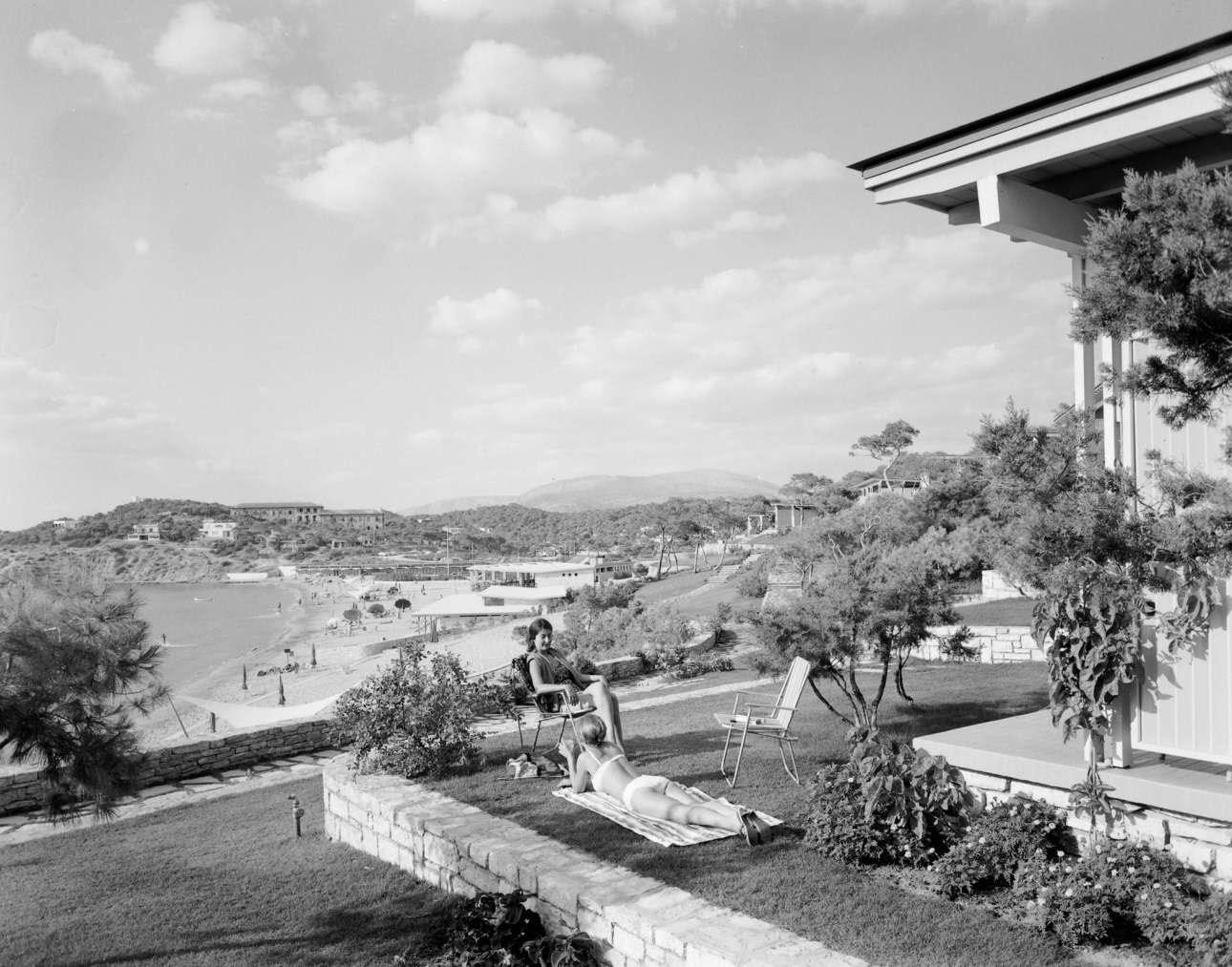 Στις καμπάνες του Αστέρα Βουλιαγμένης το 1961