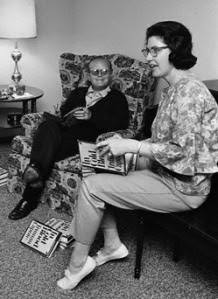 Harper Lee lived next door to the cousins Truman Capote came to stay with in her small country town. The  playmates became best friends. Capote has said that he is the model for the character Dill, in To Kill a Mockingbird.