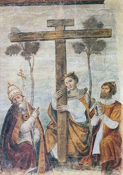 File:Adorazione della Croce con i santi Costantino, Elena e Silvestro.jpg