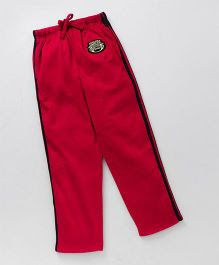 JusCubs Boys Fashion Track Pants  - Red