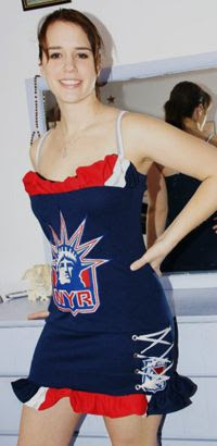 Lise's Rangers dress